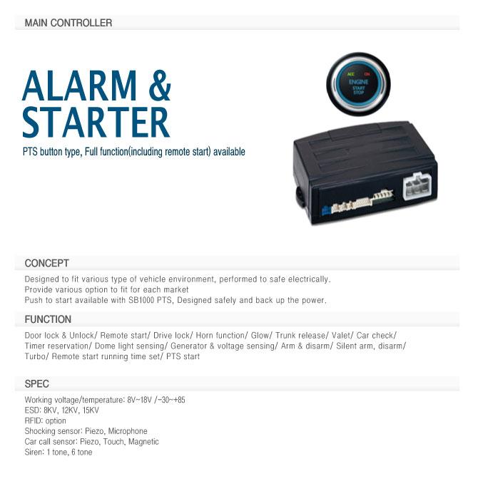 Alarm & Starter